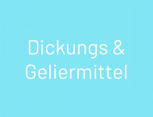 Vormischung Dickungs- & Geliermittel