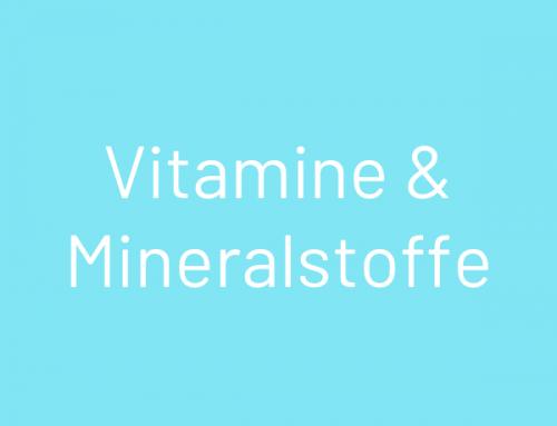 Vormischung Vitamine und Mineralstoffe