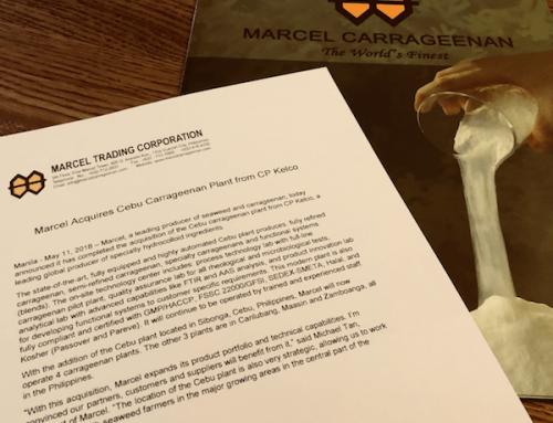 Marcel Trading erwirbt Cebu Carrageenan Werk von CP Kelco