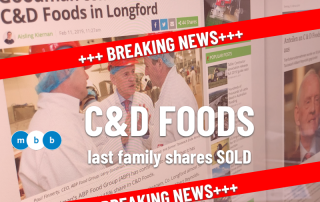 #20190212 MBB NEWS C&D Foods last family shares sold