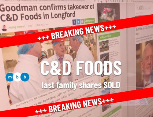 C&D Foods – letzte Anteile der Reynolds Familie verkauft – Ursache Brexit