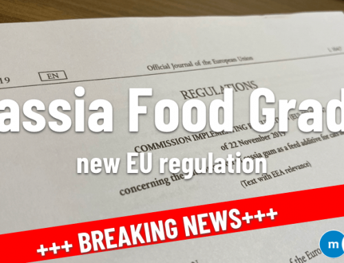 Cassia Gum Food grade – Cat and Dog food – Official EU publication- new regulation