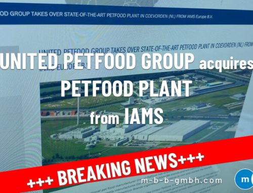 UNITED PETFOOD group acquires petfood plant from IAMS